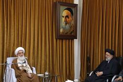دیدار رئیس قوه قضائیه با مراجع عظام تقلید در قم