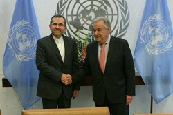 Ambassador Takht Ravanchi submits credentials to UN chief