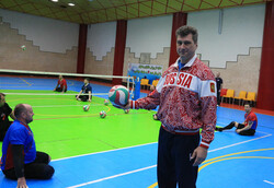 Russia sitting volleyball