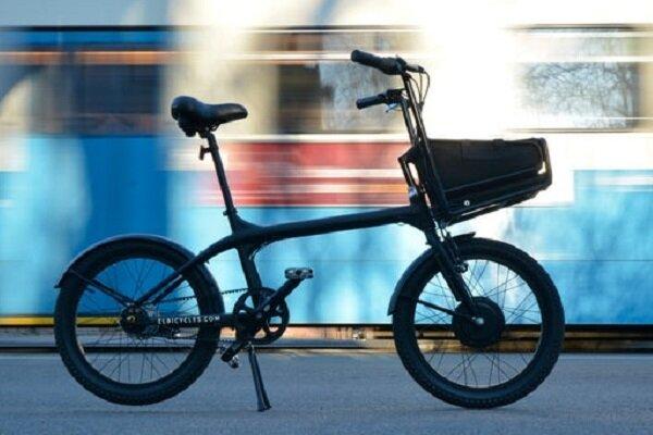 تولید دوچرخه برقی با باتری کوله پشتی