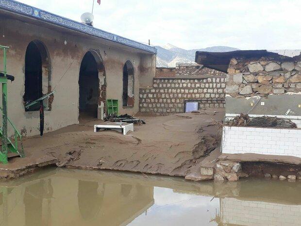 خسارت ۱۰ میلیارد ریالی سیلاب به ابنیه تاریخی نیشابور