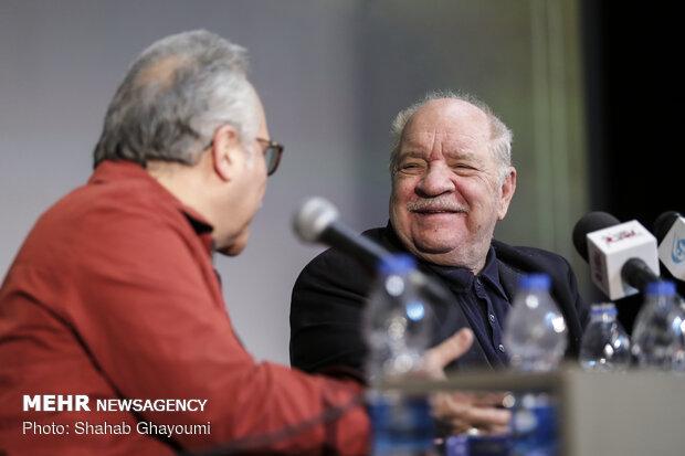 Paul Schrader's presser in Tehran