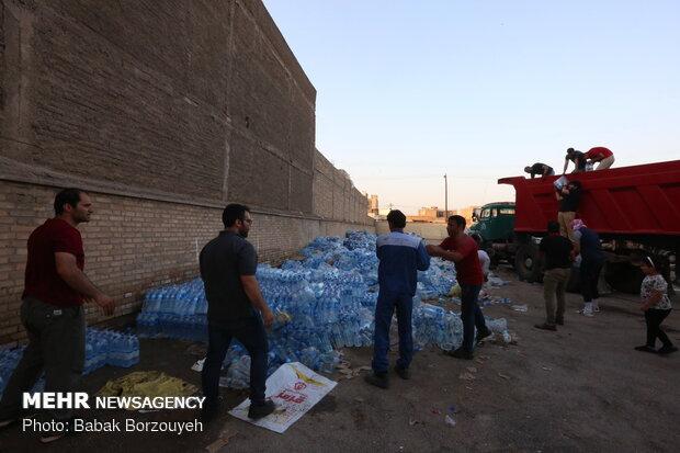 توزیع ۲ هزار بسته لوازم خانگی بین سیل زده خوزستان