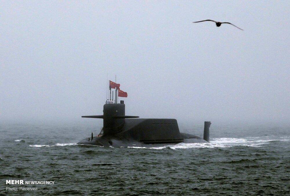 رژه نیروی دریایی چین