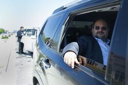 وزیر کار و رفاه اجتماعی وارد همدان شد