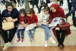32. Tahran Kitap Fuarı'ndan kareler