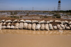 تهدید دارخوین به خاطر افزایش آب تالاب شادگان/ نیاز به لودر داریم