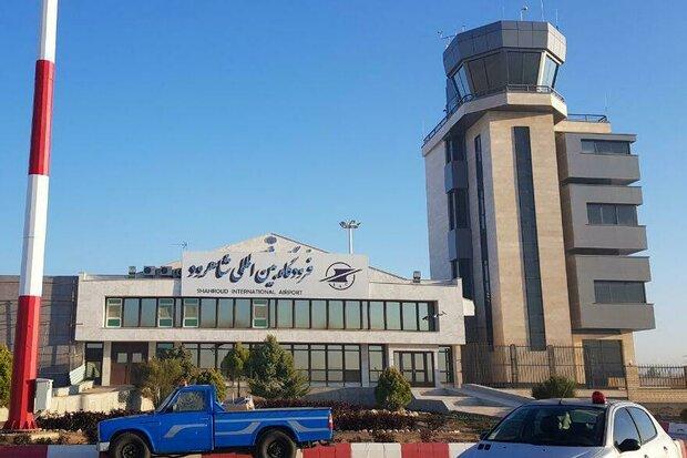 اولین پرواز خارجی فرودگاه شاهرود انجام شد/پرواز آرزوها به عتبات