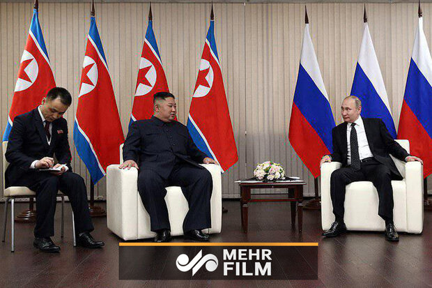 ماسکو میں صدر پوتین اور صدر کیم جونگ اون کی پہلی ملاقات