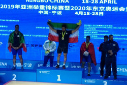 Iranian weightlifters win 4 medals at 2019 Asian C'ships