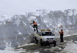 بارش ۳ متری برف در دامنههای سهند و احتمال سیل در روزهای آینده
