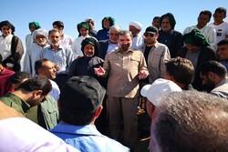 محسن رضایی وضعیت اسکان آسیب دیدگان سیل خوزستان را بررسی کرد
