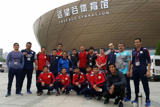 Iran Greco-Roman team wins Asian C'ships