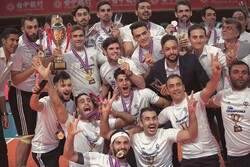 Iran's Varamin claims title of Asian Men's Club Volleyball C'ship
