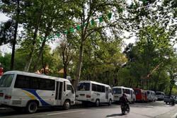 اعتراض رانندگان مینی بوس و اتوبوس نسبت به پرداخت عوارض