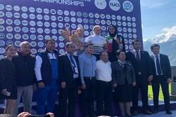 مدال تاریخی بانوی رکابزن ایران در قهرمانی آسیا/ یزدانی برنز گرفت