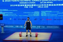 علی هاشمی - وزنه برداری