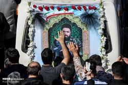 روایتی از وداع با شهیدمجید قربانخانی در معراج شهدا/ بازگشت قهرمان