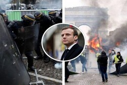 تظاهرات جلیقهزردها در فرانسه ادامه دارد