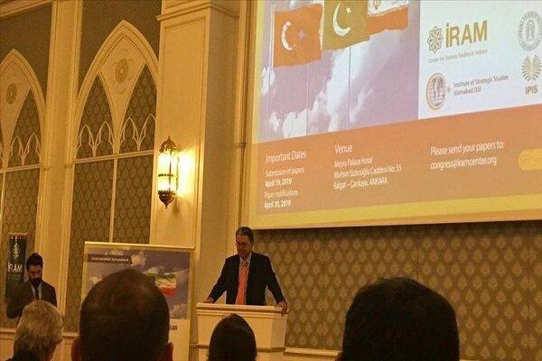Ankara hosts Turkey-Pakistan-Iran coop. symposium