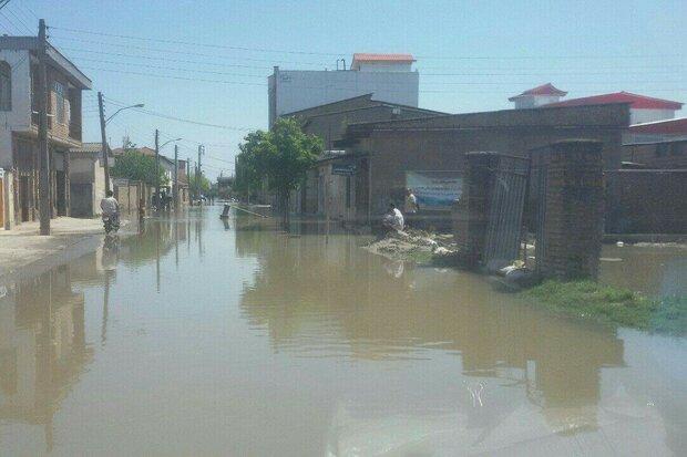 Türkmen Sahra bölgesinde sel çilesi sürüyor