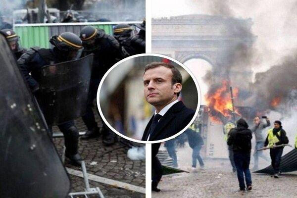 جلیقهزردها به خیابانهای پاریس بازگشتند