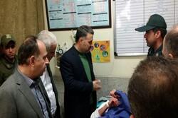 حال عمومی مجروحان نیروی انتظامی در همدان مطلوب است