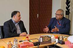 دیدار روسای ۲ جشنواره بینالمللی با مدیرعامل فارابی