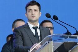 زلنسکی: جنگ در شرق اوکراین همان جنگ در اروپا است!