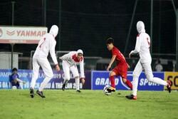 شکست تیم ملی بانوان ایران مقابل کرهجنوبی