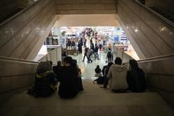 نمایشگاه کتاب تهران شلوغ شد/ازدحام بازدیدکنندگان در غرفه ها