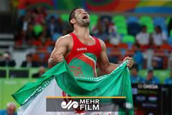 کسب مدال طلای وزن ۸۲ کیلوگرم توسط سعید عبدولی