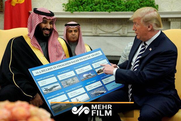 VIDEO: Trump humiliates S Arabia again!