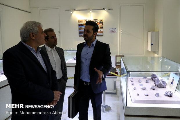 Meteorites exhibition in Tehran