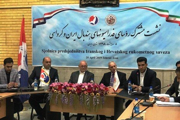 Iran, Croatia handball federations sign MoU