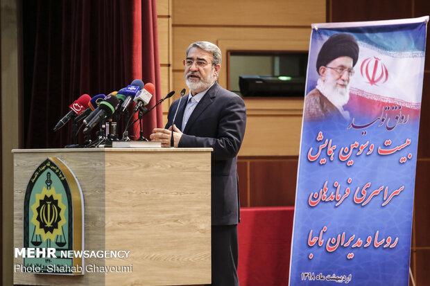 عبدالرضا رحمانی فضلی, وزیر کشور, ناجا