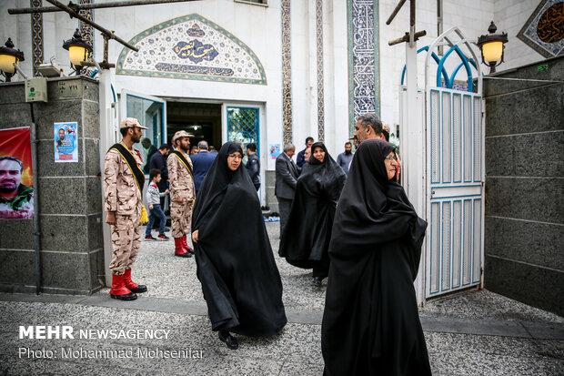 پاسداشت شهید مدافع حرم علی سعد