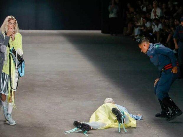 برازیل میں ماڈل ریمپ پر گر کر ہلاک ہوگئے