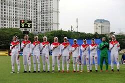 لبنان آخرین حریف تیم فوتبال دختران/ صعود سخت شد!