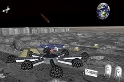 تکمیل طرح سکونتگاههای هوشمند در ماه و مریخ
