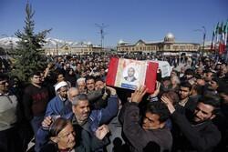 ہمدان میں مقتول طالب علم کی تشییع جنازہ