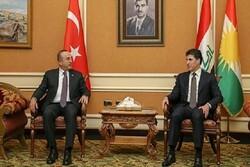 Dışişleri Bakanı Çavuşoğlu, Erbil'de