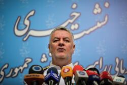 ایرانی بحریہ کے کمانڈر کی صحافیوں سے گفتگو