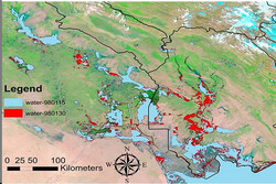 ISRC to submit satellite-based report on damages of huge flood hit Iran in Mar.