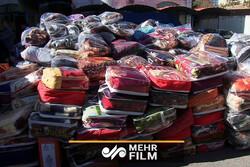 ارسال کمکهای مردمی به سیل زدگان توسط گروه جهادی امام حسین (ع)