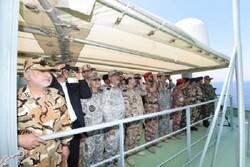 انتهاء المناورات البحرية المشتركة بين إيران وعمان