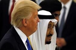 Trump'tan Kral Selman'a: Sizi savunmak için yırtınıyoruz