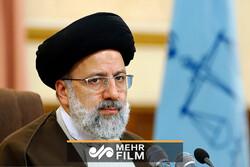 حضور رئیس قوه قضائیه در حرم امام خمینی (ره)