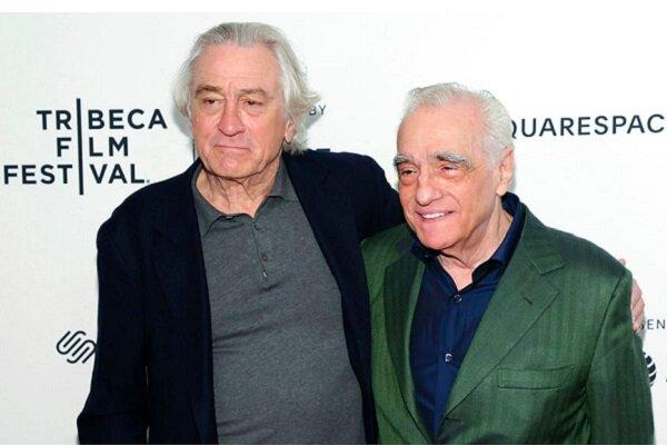 ۲ غول سینما در یک قاب/ اسکورسیزی در جشنواره رابرت دنیرو شرکت کرد