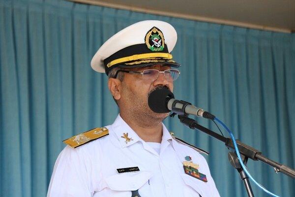 نیروی دریایی با اقتدار در تامین امنیت دریاها حضور دارد